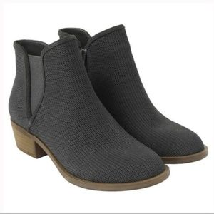 Kensie  Gerona Dark Grey Suede Booties